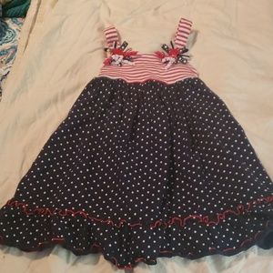 Patriotic Sophie Rose Dress